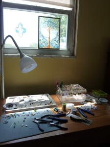 The Beadery on a sunny morning