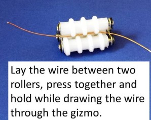 wire in gizmo